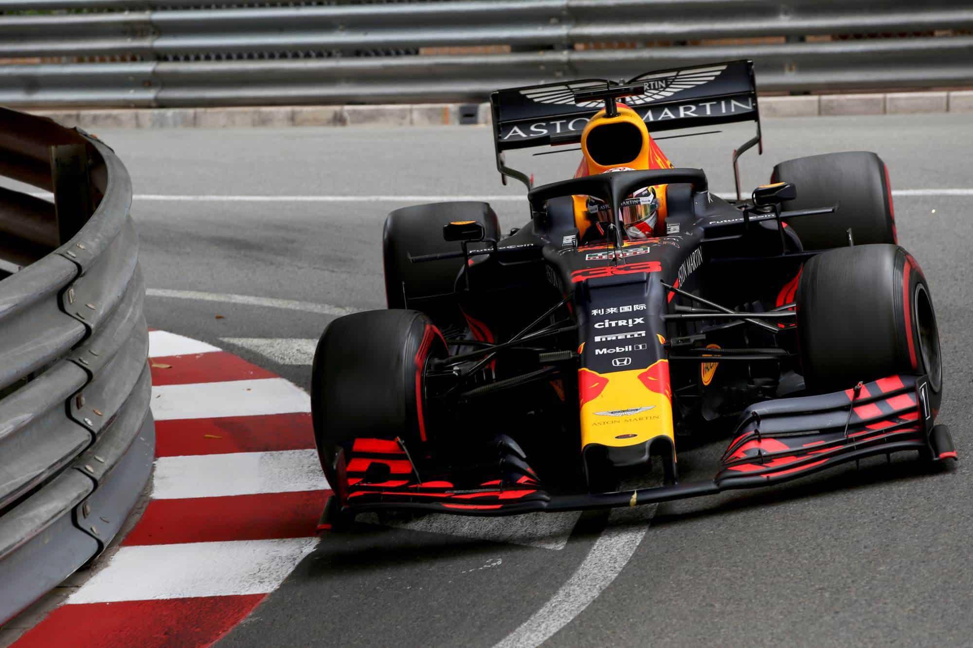 Max Verstappen Red Bull RB15 Monaco GP F1 2019 Photo Red Bull