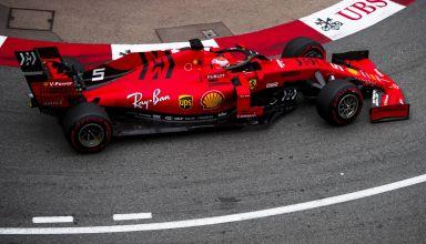 Sebastian Vettel Ferrari SF90 Monaco GP F1 2019 Loews hairpin Photo Ferrari