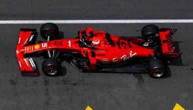 Sebastian Vettel Ferrari SF90 Monaco GP F1 2019 top shot Photo Ferrari