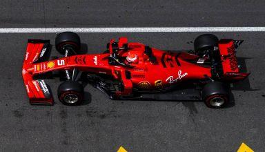Sebastian Vettel Ferrari SF90 Monaco GP F1 2019 top shot Photo Ferrari