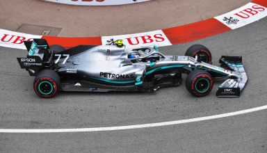 Valtteri Bottas Mercedes F1 W10 Monaco GP free practice Loews hairpin Photo Daimler