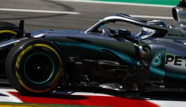 Valtteri Bottas Mercedes F1 W10 Spanish GP F1 2019 close Photo Daimler