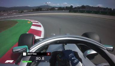 Valtteri Bottas Mercedes F1 W10 Spanish GP F1 2019 onboard Photo F1-com