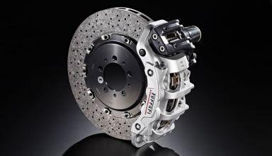 Brembo carbon ceramic disc and caliper Ferrari