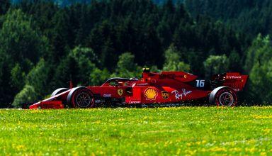 Charles Leclerc Ferrari SF90 Austrian GP F1 2019 Photo Ferrari