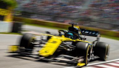 Daniel Ricciardo Renault Canadian GP F1 2019 blur Photo Renault