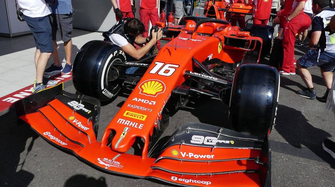 2019 French GP – Big package of small evolutions on Ferrari SF90