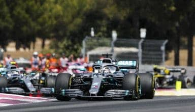 Hamilton and Bottas Mercedes F1 W10 French GP F1 2019 race Photo Daimler