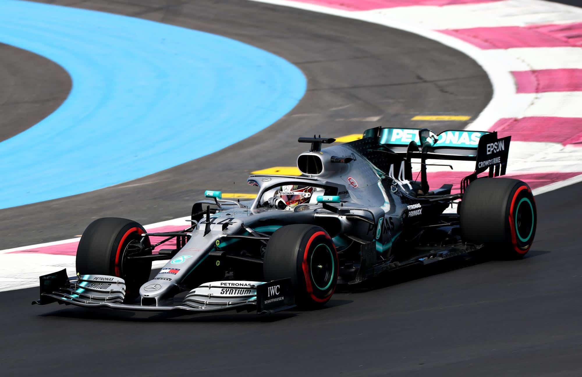 Lewis Hamilton Mercedes F1 W10 French GP F1 2019 Photo SkySportsF1