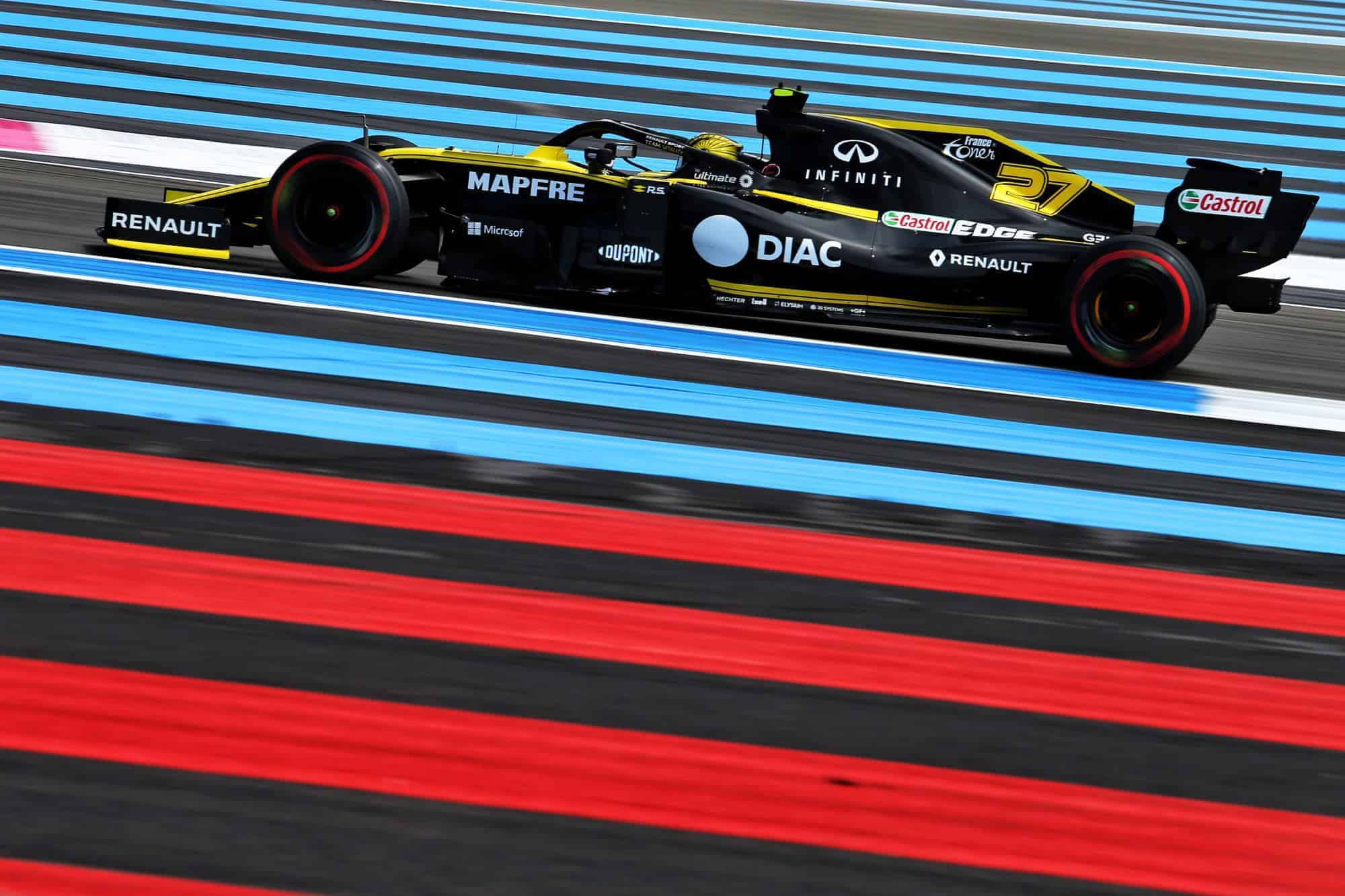 2019 French GP – Qualifying and race top speeds and best