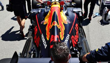 Red Bull RB15 rear end top Canadian GP F1 2019 Photo Red Bull