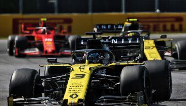 Ricciardo Hulkenberg Leclerc Canadian GP F1 2019 Photo Renault