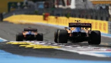 Sainz Norris McLaren MCL34 French GP F1 2019 Photo McLaren
