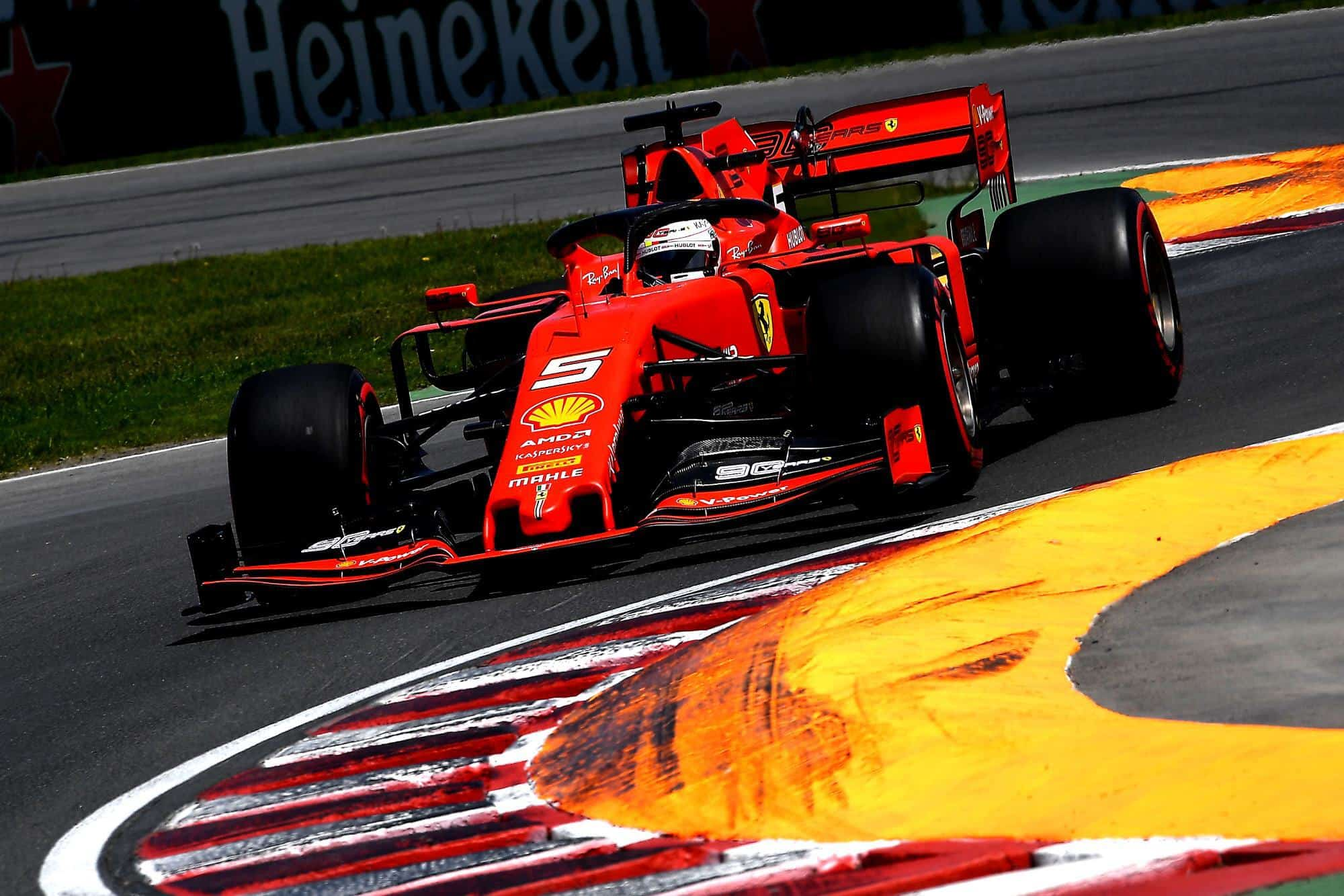 Sebastian-Vettel-Ferrari-Canadian-GP-F1-2019-final-chicane-Photo-Ferrari