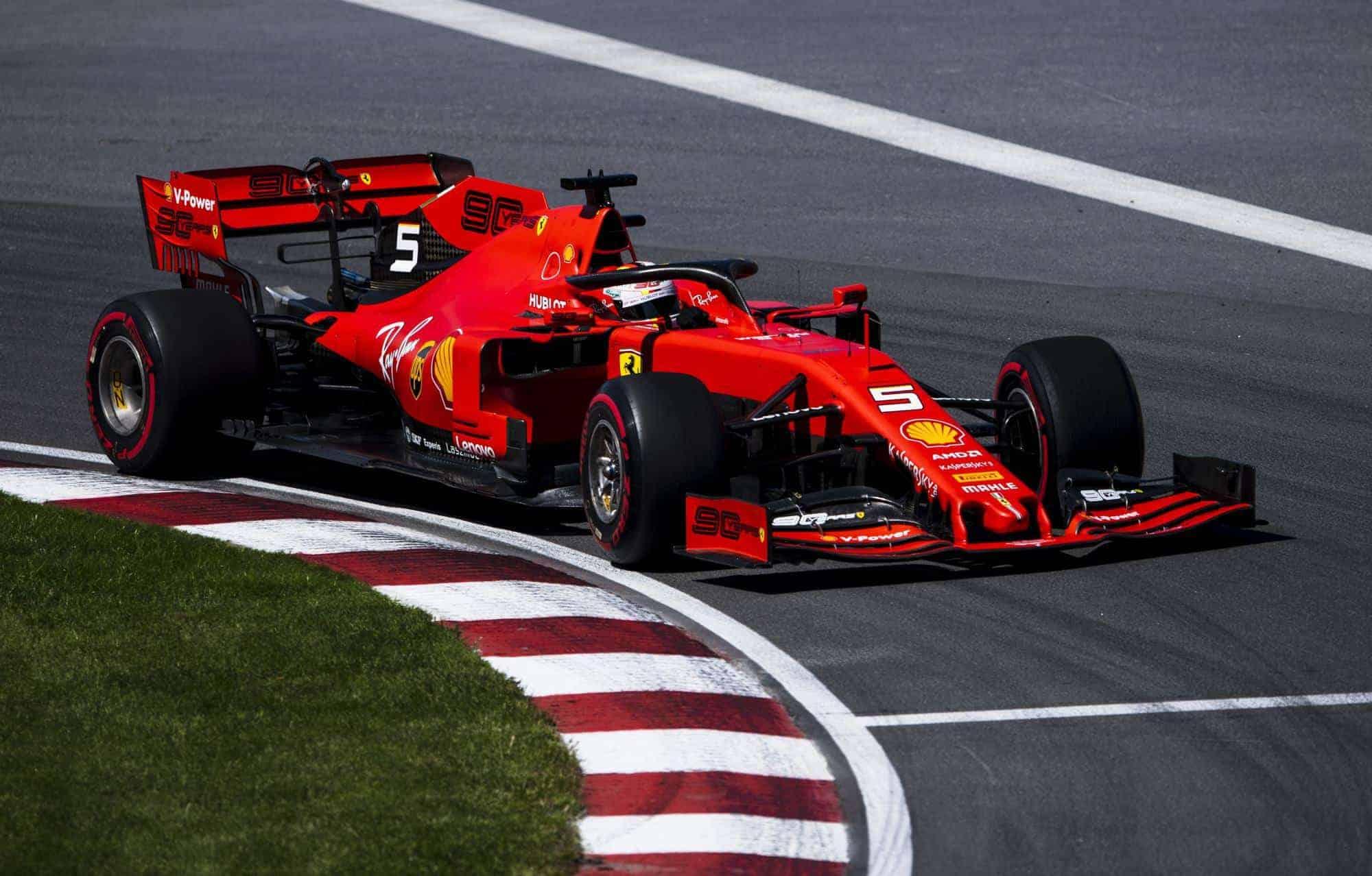 Sebastian Vettel Ferrari Canadian GP F1 2019 first corner Photo Ferrari