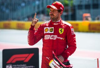 Sebastian Vettel Ferrari Canadian GP F1 2019 post qualifying Photo Ferrari