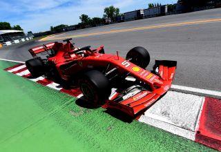 Sebastian-Vettel-Ferrari-Canadian-GP-F1-2019-post-qualifying-Wall-of-Champions-Photo-Ferrari