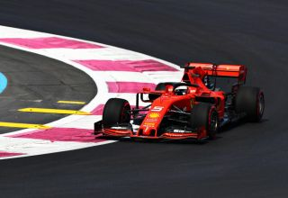 Sebastian-Vettel-French-GP-F1-2019-on-the-track-FP1-Photo-Ferrari