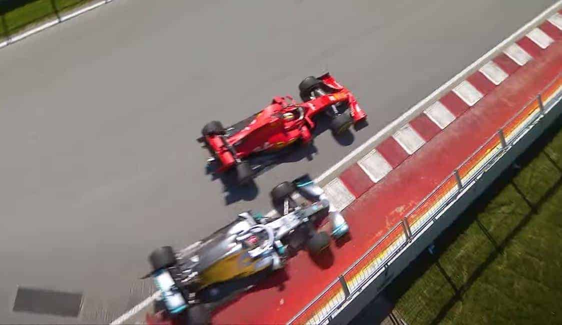 hamilton vettel canadian gp f1 2019 clash 2 Screenshot F1