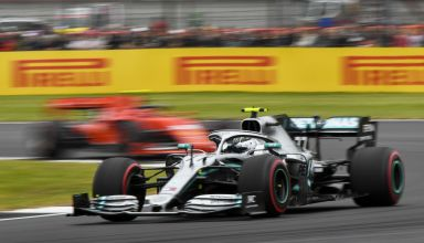 Bottas leads Vettel British GP F1 2019 Photo Pirelli
