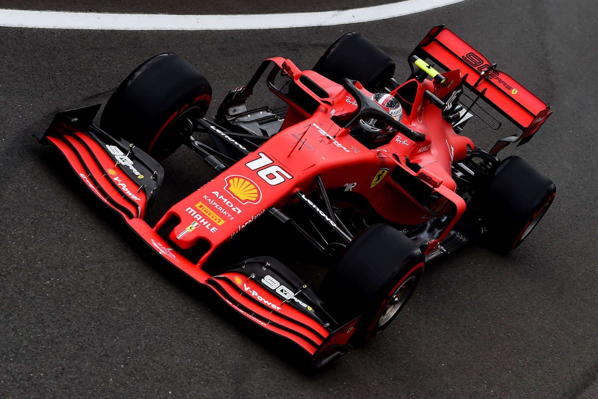 Charles Leclerc Ferrari British GP F1 2019 Photo Ferrari