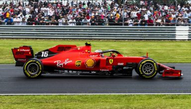 Charles Leclerc Ferrari British GP F1 2019 side Photo Ferrari