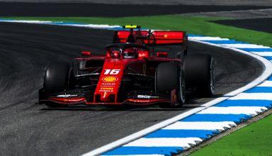 Charles Leclerc Ferrari German GP F1 2019 Photo Ferrari