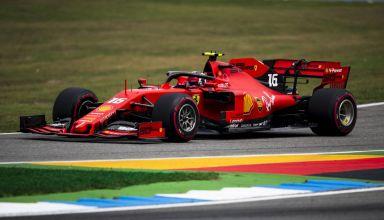 Charles Leclerc Ferrari German GP F1 2019 saturday Photo Ferrari