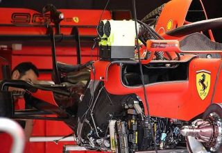 Ferrari SF90 under the engine cover British GP F1 2019 Photo Ferrari Motorsport-com