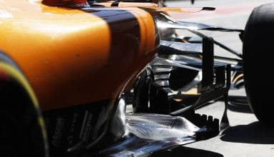 McLaren MCL34 Austrian GP F1 2019 pits close Photo McLaren