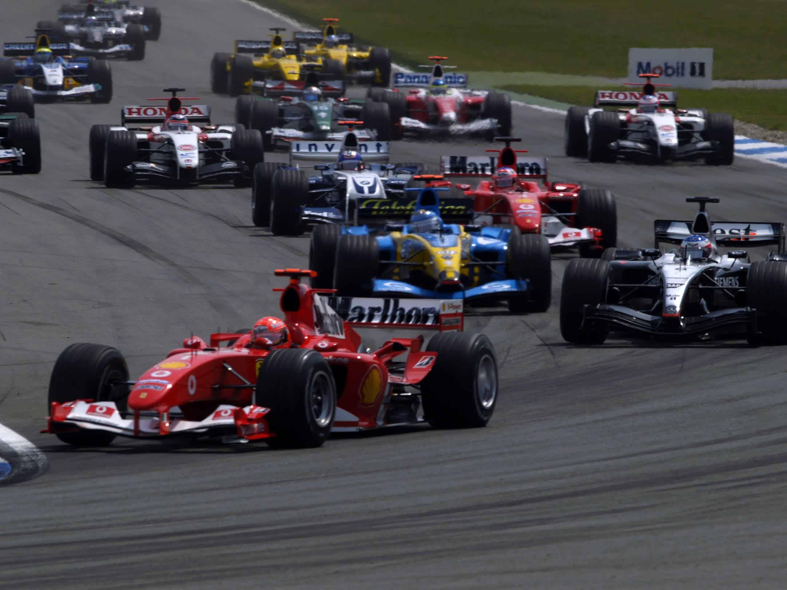 Michael-Schumacher-Ferrari-F2004-German-GP-F1-2004-race-start-Hockenheim-Photo-Ferrari