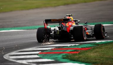 Pierre Gasly Red Bull RB15 British GP F1 2019 FP1 Photo Red Bull