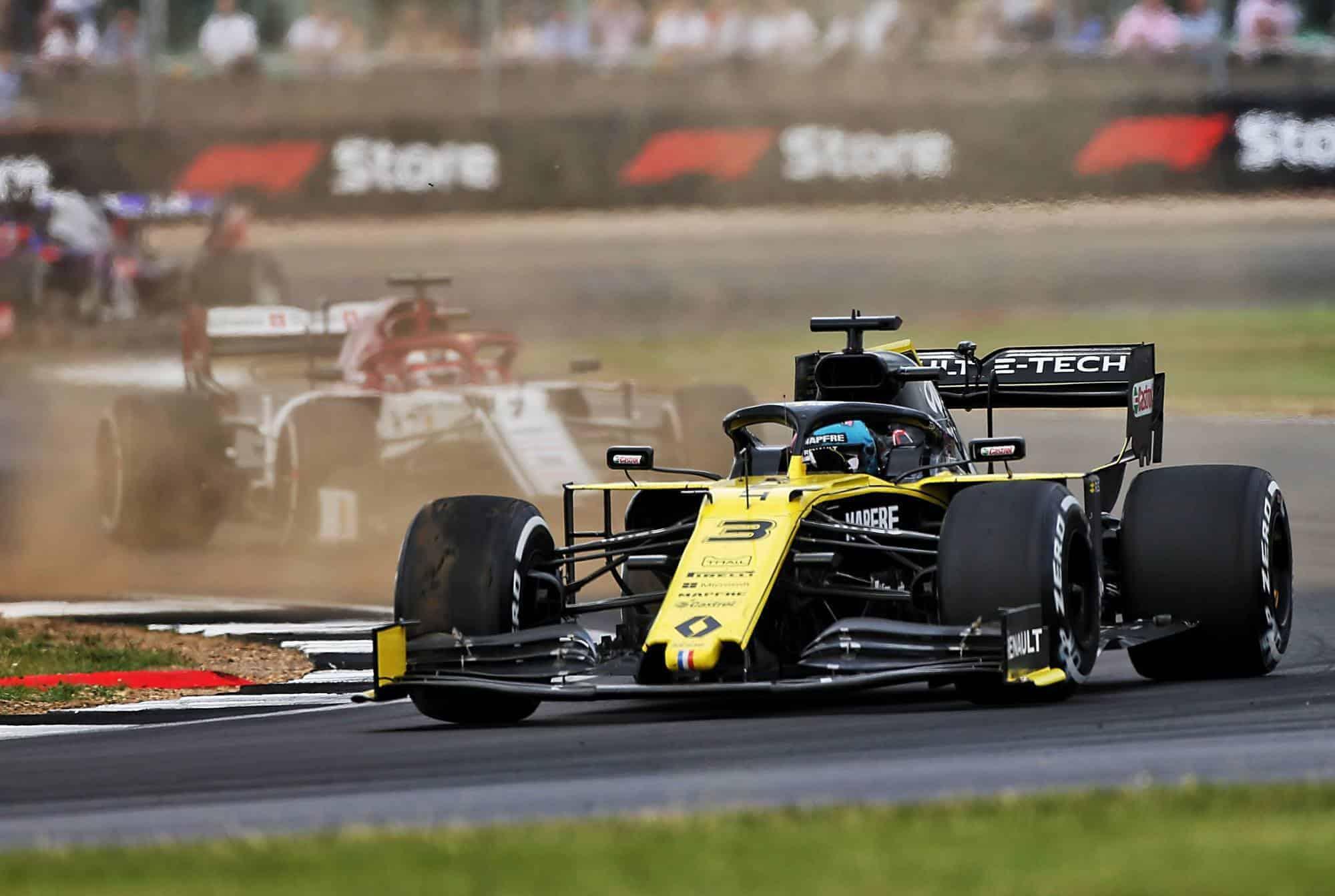RIcciardo Renault British GP F1 2019 Silverstone Photo Renault