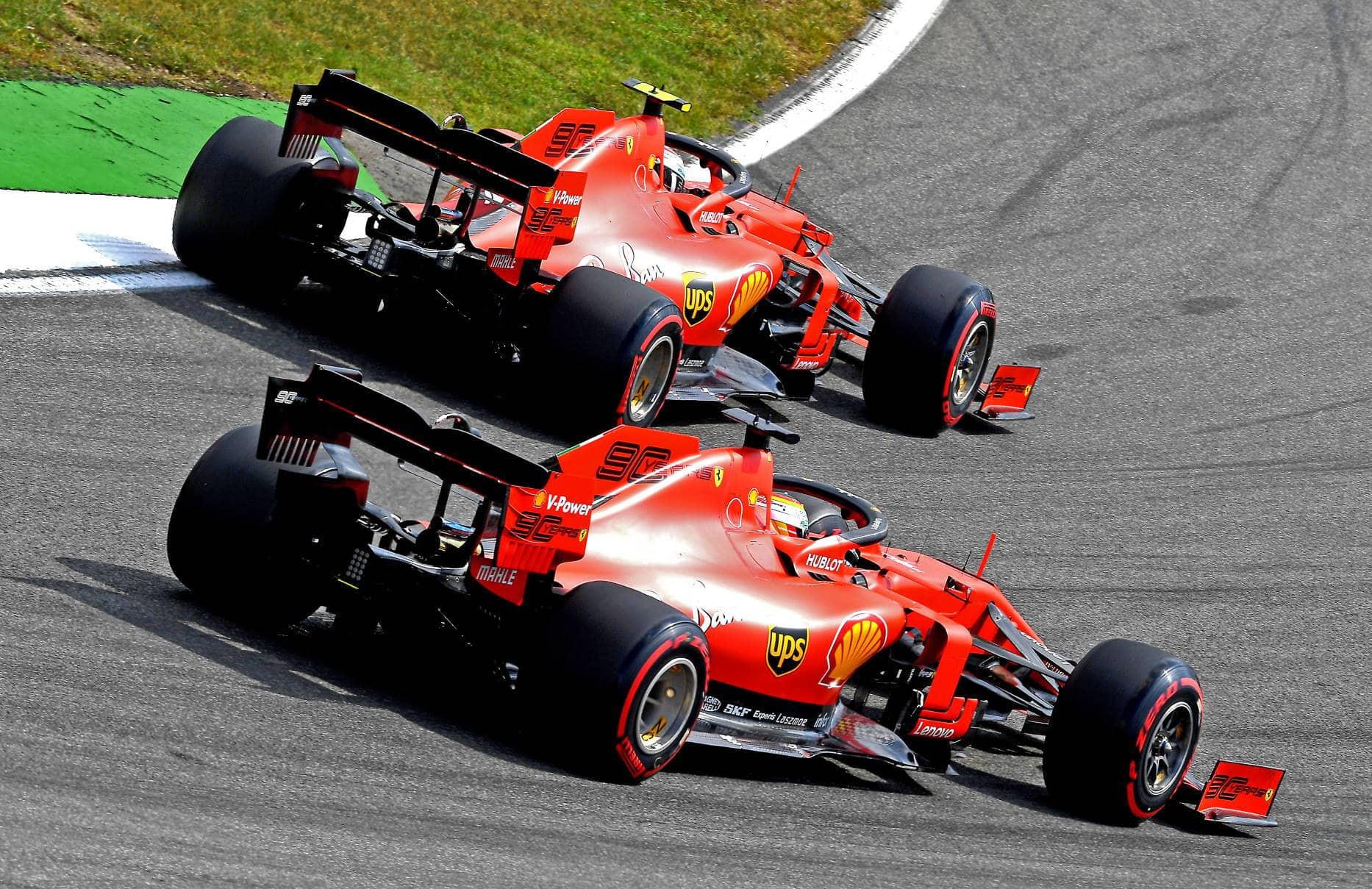 Sebastian-Vettel-Charles-Leclerc-Ferrari-German-GP-F1-2019-Photo-Ferrari