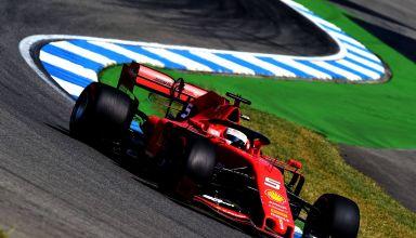 Sebastian Vettel Ferrari German GP F1 2019 Photo Ferrari