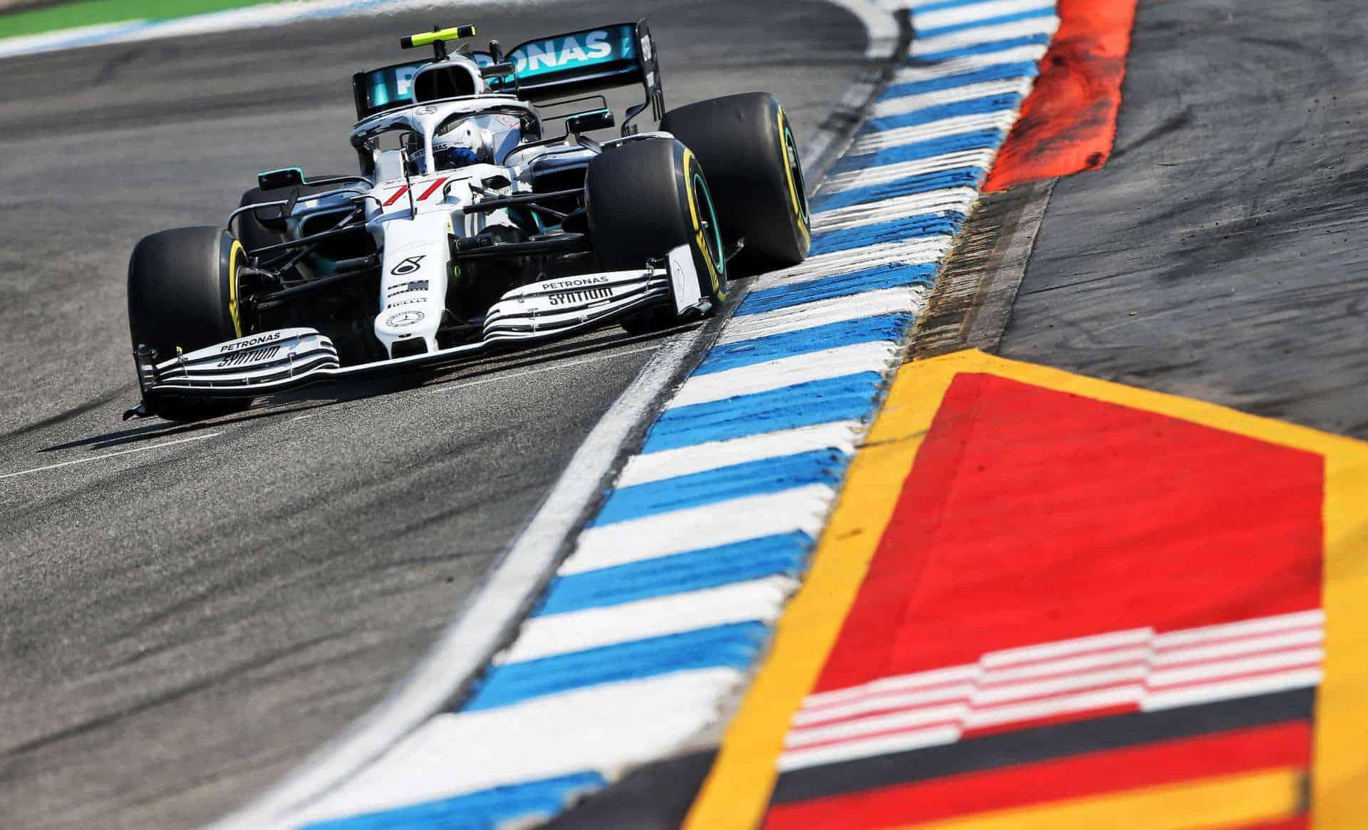 Valtteri Bottas Mercedes F1 W10 German GP F1 2019 Photo Daimler
