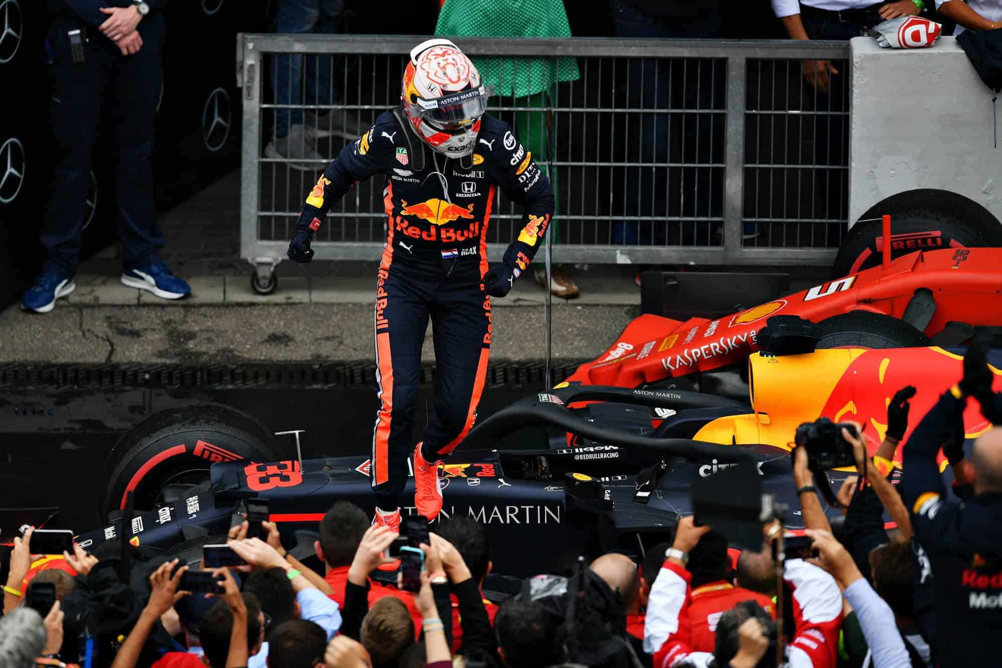Verstappen wins German GP F1 2019 Photo Red Bull