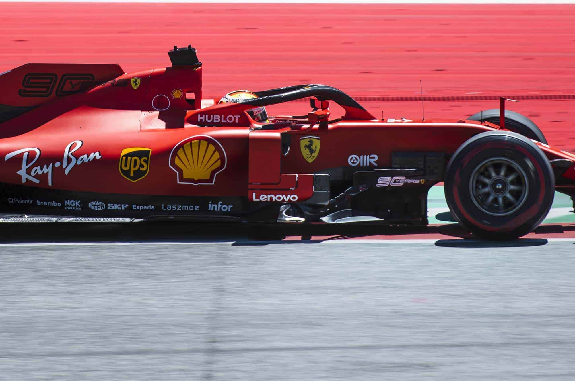 Vettel Ferrari SF90 Austrian GP F1 2019 Photo Ferrari