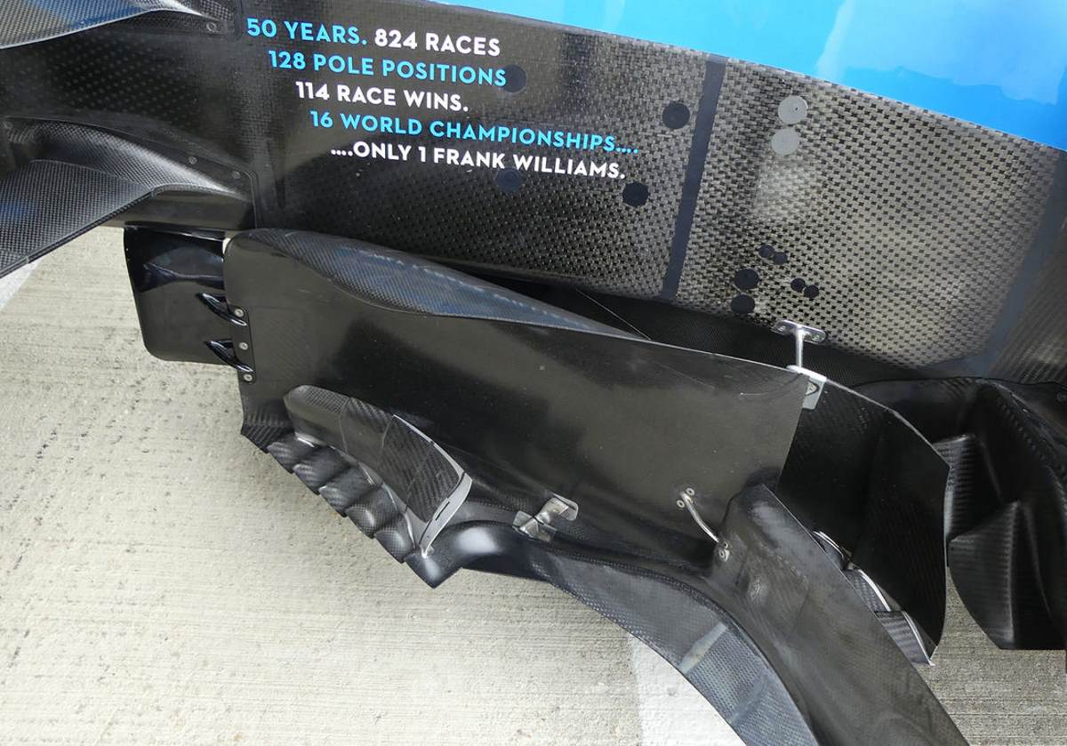 Williams F1 2019 British GP bargeboard update Photo AMuS