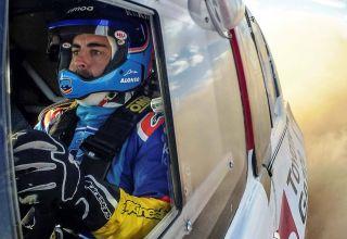 Alonso Dakar Toyota test