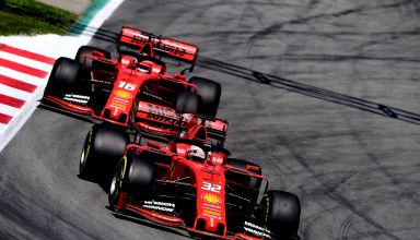 Barcelona F1 2019 post Spanish GP test Photo Ferrari
