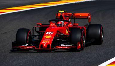 Charles Leclerc Ferrari Belgian GP F1 2019 Photo Ferrari