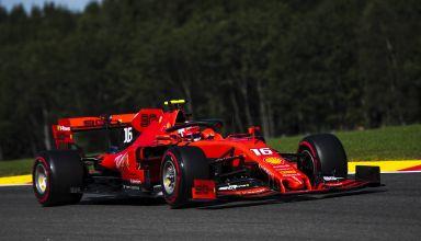 Charles Leclerc Ferrari Belgian GP F1 2019 soft Photo Ferrari
