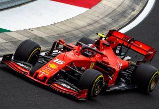 Charles Leclerc Ferrari Hungarian GP F1 2019 Photo Ferrari
