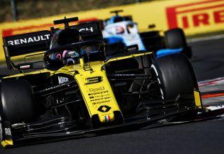 Daniel Ricciardo Renault Hungarian GP F1 2019 Photo Renault