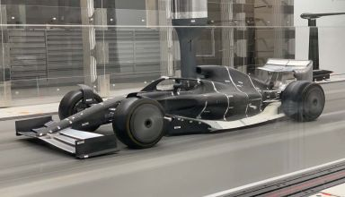 F1 2021 50 percent wind tunnel scale model Photo F1