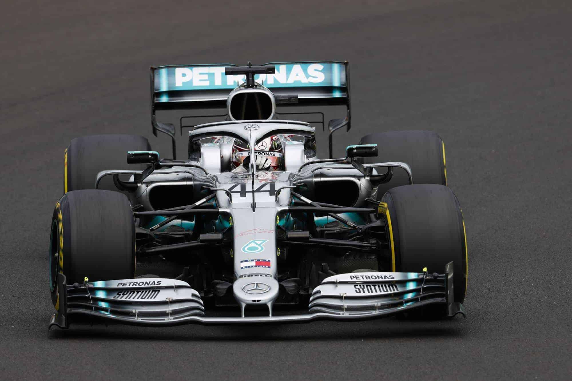 Hamilton Mercedes Hungarian GP F1 2019 Friday Photo Daimler