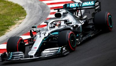 Lewis Hamilton Mercedes F1 W10 Hungarian GP F1 2019 Photo Daimler