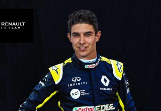 Ocon Renault F1 2020