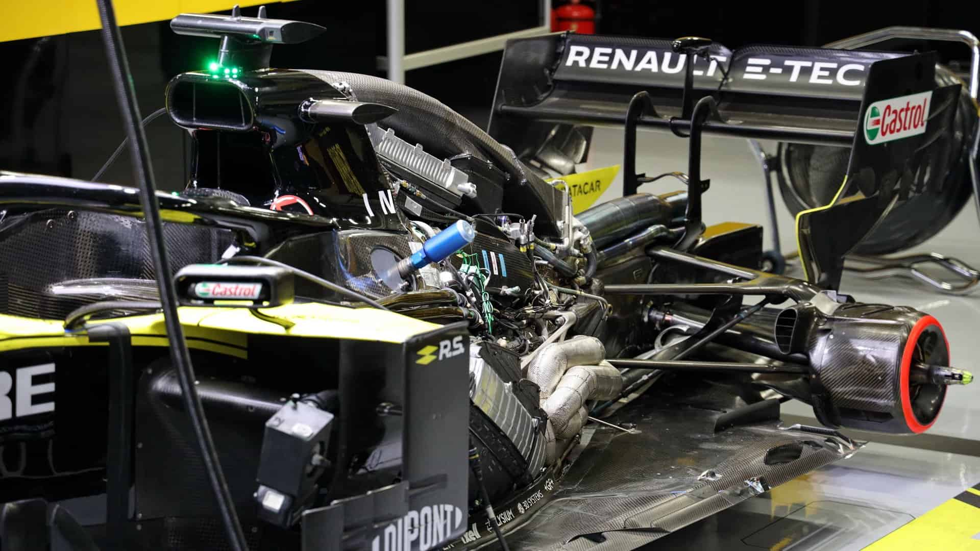 Renault first to confirm 1000 HP F1 engine power